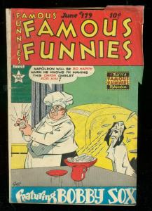 FAMOUS FUNNIES #179 1949-BUCK ROGERS-SCORCHY SMITH-RARE VG