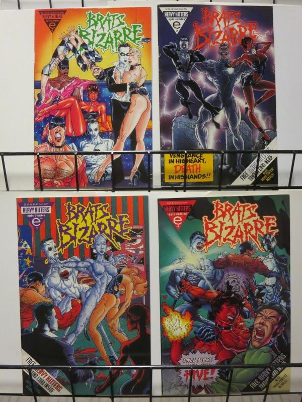 BRATS BIZARRE (1994 EPIC) 1-4 Future Goth Mutants
