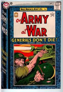 OUR ARMY AT WAR #147 1964-DC WAR COMIC-SGT. ROCK-VF VF