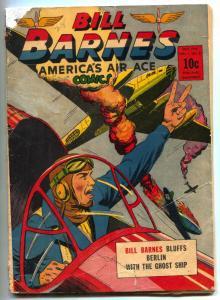 Bill Barnes Comics #8 1942- Nazis- Golden Age restored G/VG