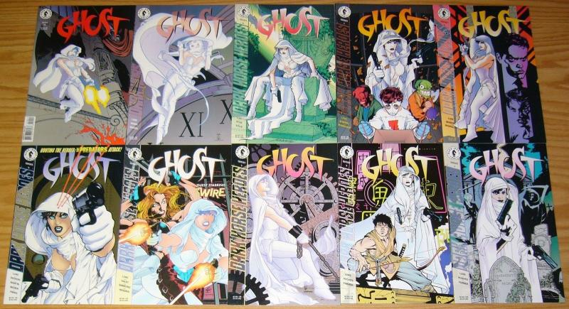 Ghost #1-36 VF/NM complete series + special 1-3 + comics greatest world -set lot