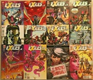 EXILES#1-12 VF/NM LOT 2018 MARVEL COMICS
