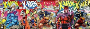 X MEN 1A-1E (ALL 5 cvrs) Party Like its 1991 JIM LEE