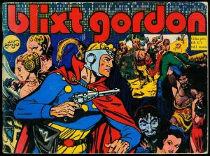Blixt Gordon - Flash Gordon Swedish reprints- Alex Raymond VG