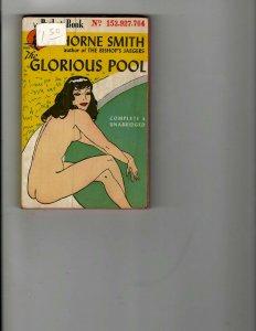 3 Books The Glorious Pool Benji Novelization Ben Casey Biography Mystery JK24