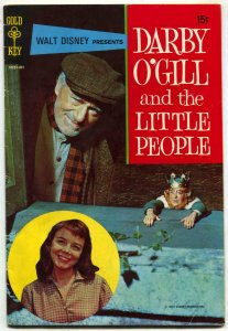 Darby O'Gill And The Little People- Gold Key Disnye Comic Book VG/F