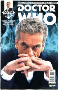 DOCTOR WHO #3 B, VF/NM, 12th, Tardis, 2014, Titan, 1st, more DW in store, Sci-fi