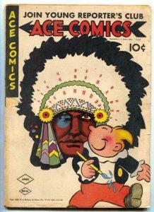 Ace Comics #85 1944- Phantom- Jungle Jim G