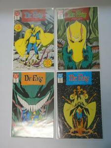 Doctor Fate set #1-4 8.5/VF+ (1987 1st Series)