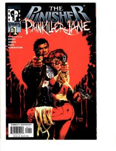 Lot Of 4 Punisher Marvel Comic Books Painkiller 1 + 2099 1 + 6 Warzone 4 MK7