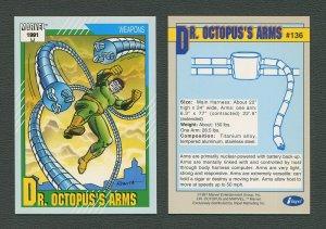 1991 Marvel Comics II  Card  #136 ( Doc Ock's Arms)  MINT