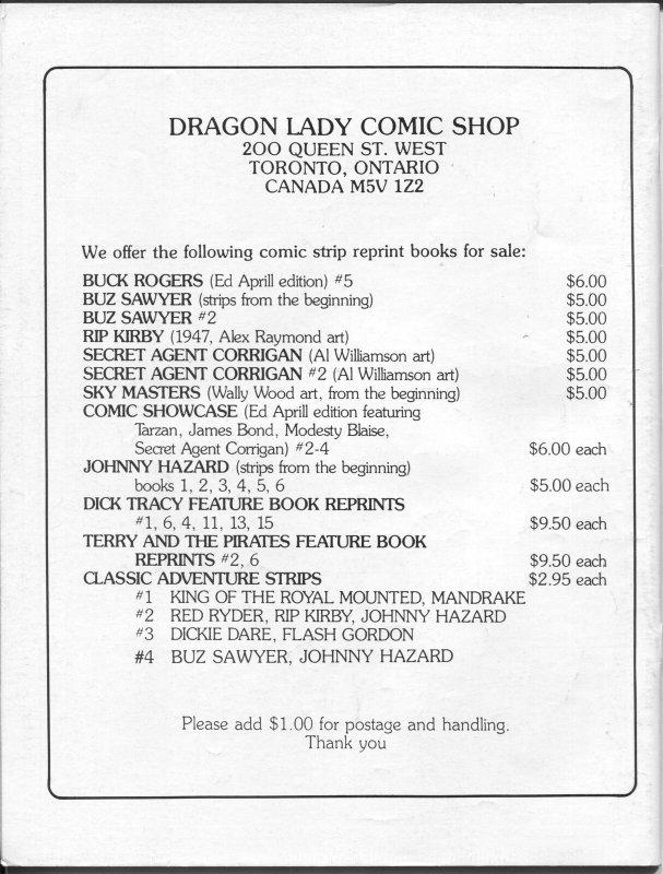Classic Adventure Strips #5 1986-Wash Tubs 1932-1933-Roy Crane-comic strips-FN