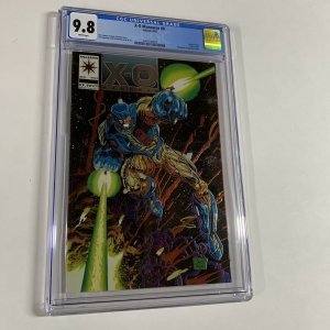 X-o Manowar 0 Cgc 9.8 Chromium Wraparound Cover Valiant