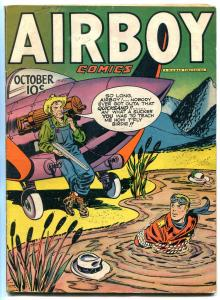 AIRBOY VOL 4  #9 1947-Simon & Kirby- Golden Age Comic VG