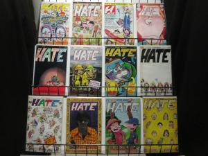 HATE (1990 FN) 1(1st Prt),2-30, Ann 1-4   PETER B
