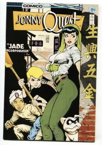 Jonny Quest #5 GGA 1986-Dave Stevens Cover nm-