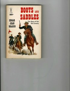 3 Books Boots and Saddles The Chase Hellbound Western Murder Mystery Drama JK16