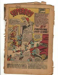 10 Adventure Comics DC # 306 311 312 313 314 315 317 318 319 221 Coverless PG1