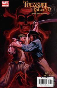 Marvel Illustrated: Treasure Island #4 VF/NM; Marvel | save on shipping - detail