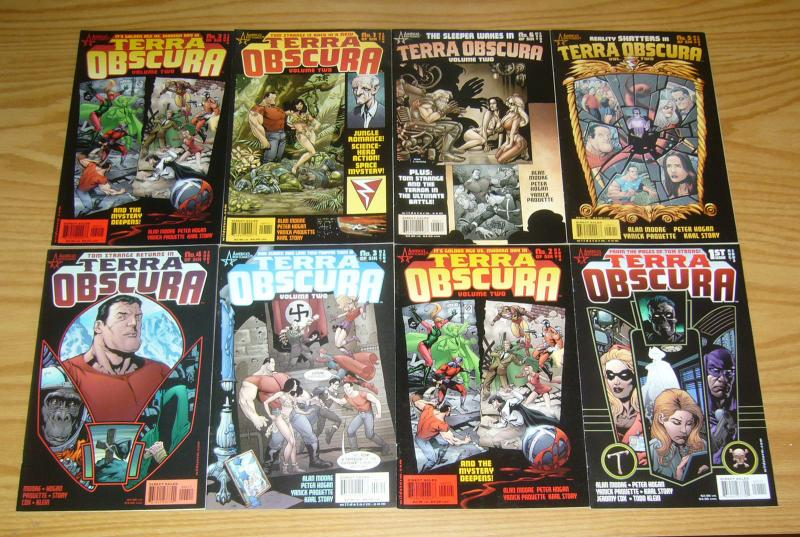 Terra Obscura #1-6 VF/NM complete series + vol. 2 #1-6 - alan moore set lot ABC