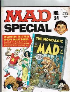 Mad Super Special # 24 Comic Book Magazine Comedy Parody Insert Included J146