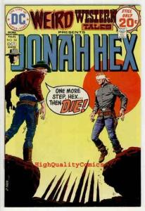 WEIRD WESTERN Tales #24, Jonah Hex, Outlaw,1972, VF
