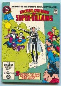DC Special Blue Ribbon Digest #15 1981-SECRET ORIGINS OF SUPER-VILLAINS