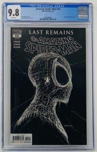 Amazing Spider-Man #55 CGC 9.8 Marvel 2020. First Printing Gleason Variant