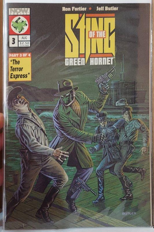 Sting of the Green Hornet #3 (1992)