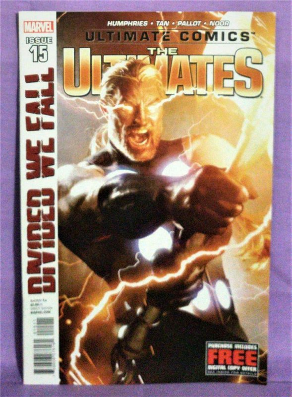 Sam Humphries ULTIMATE COMICS The ULTIMATES #15 Billy Tan (Marvel, 2012)!