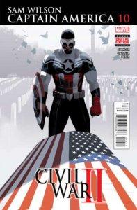 Captain America: Sam Wilson #10, NM + (Stock photo)
