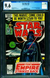 STAR WARS #39 CGC 9.6-1980- Empire Strikes Back 2006680011