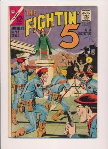 THE FIGHTIN' 5 -- #29 ~ Charlton Comics 1964 ~ VG (HX513)