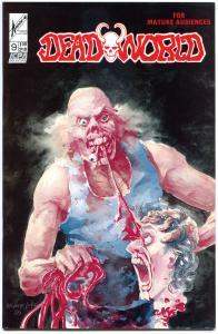 DEADWORLD #9 VF/NM, #9 VF, Horror, Gore, Undead, 1986, more Zombies in store