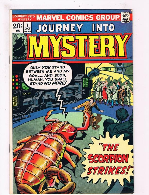 Journey Into Mystery # 7 VF/NM Marvel Comic Book Canning PEDIGREE Collection D11