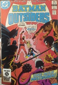 Batman and the Outsiders #4 VF