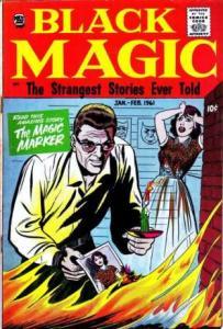 Black Magic: Volume 7 #6, VF- (Stock photo)