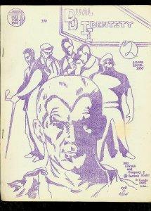 DUAL IDENTITY FANZINE #2-1965-DOC SAVAGE-SUBMARINER- FN