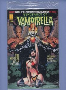 Vengeance of Vampirella #19 NM Sealed In Bag with Trading Card
