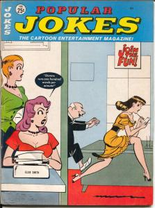 Popular Jokes #20 2/1966-Humorama-Dave Berg-Bill Ward-Art Helifant-G/VG
