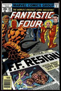 Fantastic Four #191 (Feb 1978  Marvel) 9.4 NM