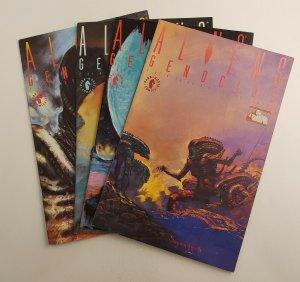 Aliens Genocide #1-4 Complete Set VF/NM Dark Horse Comics 1991 Suydam Art