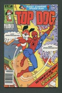 Top Dog #10 / 7.5 VFN-  Newsstand  October 1986