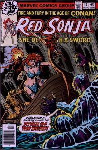 Red Sonja #14 ( 1st Series ) - 8.0 or Better