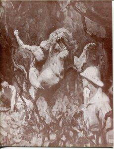 Burroughs Bulletin #321 1973-ERB-Tarzan-John Carter-Roy Dean-Herndon-VF+