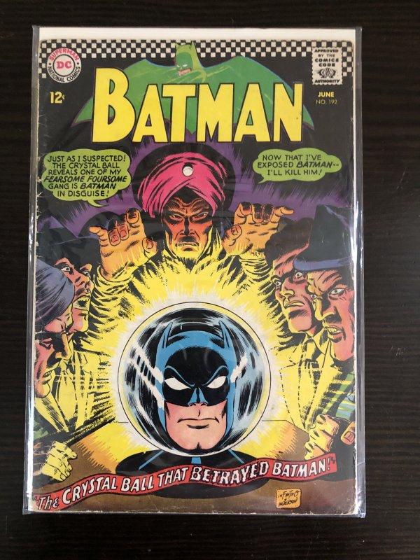 Batman (1940) #192 VG/FN DC Comics