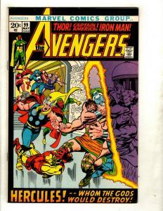 Avengers # 99 VF/NM Marvel Comic Book Hulk Thor Iron Man Captain America GK2
