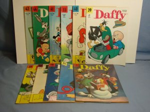 Lot Of 11 Silver Age Danish Language Looney Tunes Comic Books 1960 Vintage RARE!