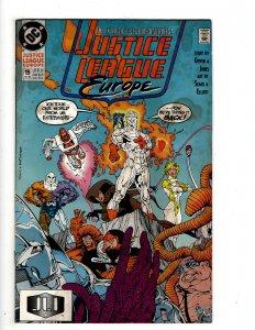Justice League Europe #19 (1990) J606