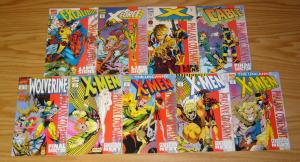 X-Men: Phalanx Covenant #1-9 VF/NM complete ALL RARE UNENHANCED VARIANTS marvel